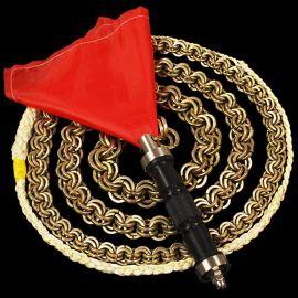 304双轴不锈钢麒麟鞭响鞭健身鞭甩鞭钢鞭运动铁鞭长鞭铁链鞭子