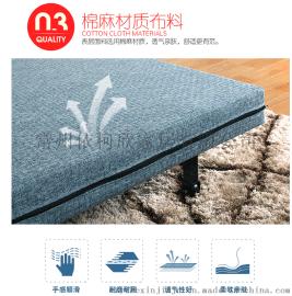 折叠抽拉乳胶沙发床厂家直销   价格优惠