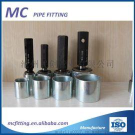 碳钢内丝镀锌黑品通丝管箍直接无缝焊管可定制