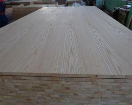 直纹水曲柳贴面细木工板 花纹水曲柳贴面板