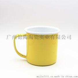 厂家直销搪瓷杯马克杯水杯礼品广告创意咖啡杯定制logo