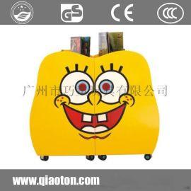 儿童玩具收纳架柜整理架置储物架幼儿园卡通书架
