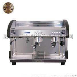 EXPOBAR/爱宝 家用双头咖啡机 商用咖啡机 触摸式液显咖啡机8013