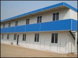 单层双层平顶房活动房屋彩钢板