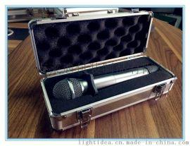 麥克風、無線麥單只多只裝鋁盒、鋁箱、手提箱、話筒包裝鋁箱