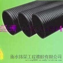 优质石家庄PE钢带管 PE钢带增强波纹管金属铁皮管
