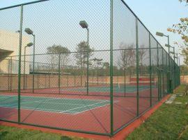 扁铁足球场围网,钻尾螺丝球场围栏网,简易体育场勾花网