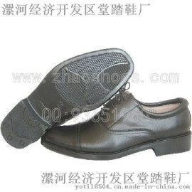真皮商務皮鞋三接頭校尉皮鞋三節頭皮鞋(05三節頭)