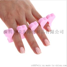 美甲工具 海绵分指棉 分脚趾棉分指器 分趾器 隔指器 分开5手指趾