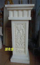 砂岩仿汉白玉柱墩雕塑定做厂家 砂岩仿汉白玉柱墩雕塑定做价格