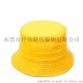 仲达棉质渔夫帽 空白旅游广告帽 定做男女士遮阳盆帽 logo可定做盆帽