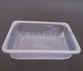 一次性透明pp鎖鮮盒/海鮮幹貨盒/食品包裝方盒
