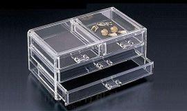 四方亚克力盒子 透明抽屉柜子 精诚厂家定制生产
