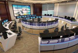 联众恒泰监控指挥中心定制化控制台AOC-D09定制设计