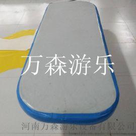 进口拉丝瑜伽垫 充气瑜伽垫 充气舞蹈垫 万森厂家定做