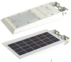太阳能庭院灯壁灯20W一体化LED家用户外花园人体感应光控别墅小太阳能灯