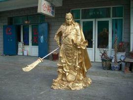 金身关公像(2.2米高)