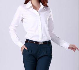 上海红万服饰 生产 定做女式长 短袖 衬衫