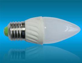 蜡烛灯  陶瓷蜡烛灯  3W  LED