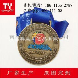 篮球奖牌-足球锦标赛奖章-金属奖牌定制厂家