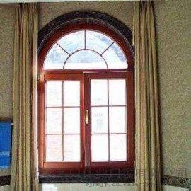 廊坊别墅门窗 别墅铝包木门窗