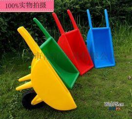 加大加厚儿童塑料独轮车手