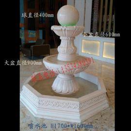 砂岩雕塑 景观喷泉雕塑