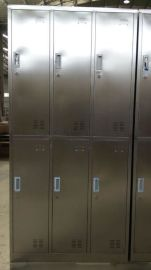 供应光森不锈钢更衣柜大厂家不锈钢更衣柜6门