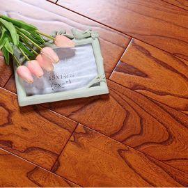榆木实木地板 纯实木 仿古平扣18mm E0级 木纹厂家直销定做