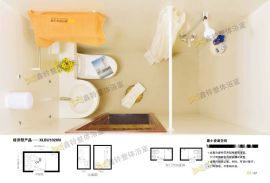 天津整体浴室厂家 供应一体式卫生间 宾馆浴室