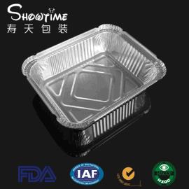 一次性餐盒 锡纸盒 锡纸盒 530ml 铝箔餐盒 寿天包装