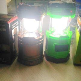 可拉伸太阳能露营灯LED野营灯马灯帐篷灯 手提灯太阳光充电多功能