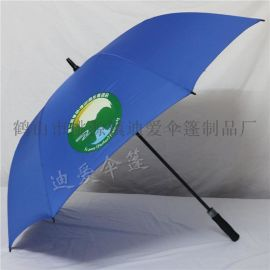 30寸高尔夫伞定制logo自动直杆广告伞超大黑户外长柄雨伞批发厂家