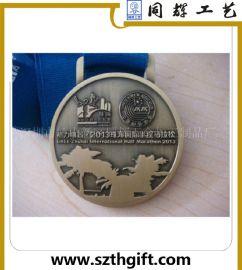 金属奖牌 锌合金运动跑步奖牌定做