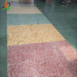 海南精磨水泥地板,石英石地板工程