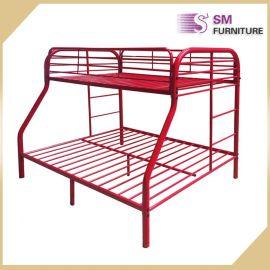 时尚铁床双层床出售