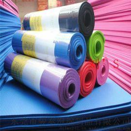 全年低价供应8毫米压纹PVC瑜伽垫 环保认证