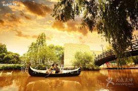 木船廠家出售定制婚紗攝影道具船公園裝飾船