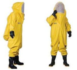 A級氨氣液氨全封閉防護服(氣密性重型防化服)