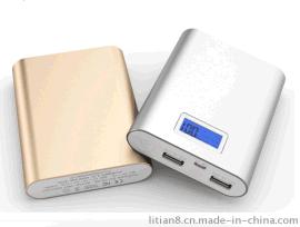 供应带显示屏移动电源 小米充电宝10400毫安 礼品定制厂家