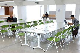 折叠培训桌 学习会议组合条桌定制 学生学习多功能条桌批发