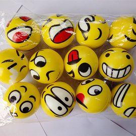 发泡笑脸球\异型发泡玩具礼品球\外贸原单发泄环保球
