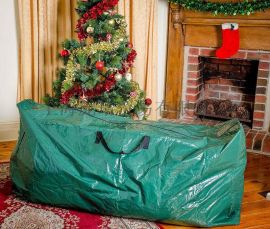 圣诞树袋圣诞编织袋圣诞树收纳袋