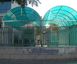 '誉耐'供应车棚阳光板_雨棚阳光板_遮阳PC阳光板