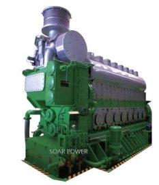 现代船用双燃料发电机组(1,300~9,264KW)