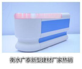 衡水生产厂家供应医用159mm豪华PVC带凹槽防撞扶手 万米以下可当天发货