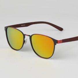 厂家直销2016百搭墨镜新款复古框架太阳眼镜 男女士通用偏光太阳镜