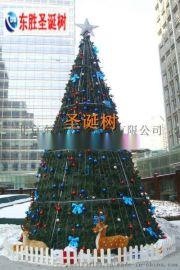 哈尔滨圣诞树/沈阳大型圣诞树/户外圣诞亮化真树缠灯