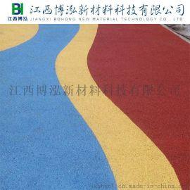 海绵城市建设用彩色生态透水地坪
