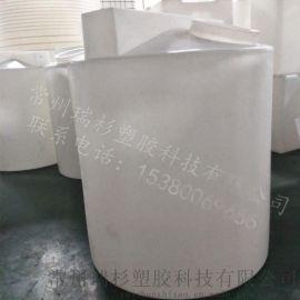 【1500L塑料加药箱】 扬州1.5T平底搅拌桶 1.5立方塑料水箱